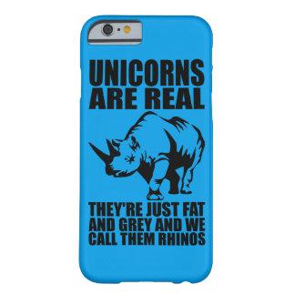 Capa Barely There Para iPhone 6 Os unicórnios são - são Rhinos - novidade