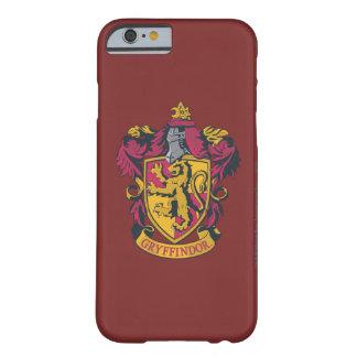 Capa Barely There Para iPhone 6 Ouro e vermelho da crista de Harry Potter  