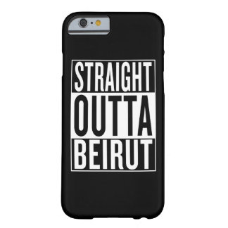 Capa Barely There Para iPhone 6 outta reto Beirute