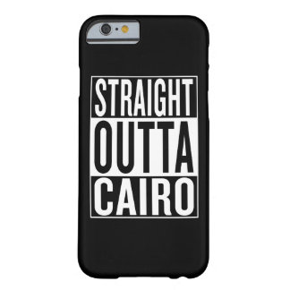 Capa Barely There Para iPhone 6 outta reto o Cairo