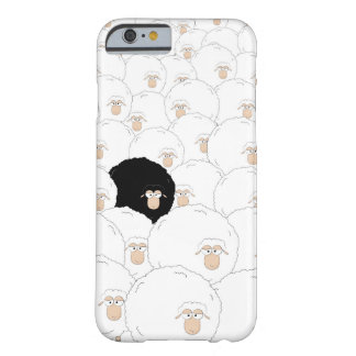 Capa Barely There Para iPhone 6 Ovelhas negras