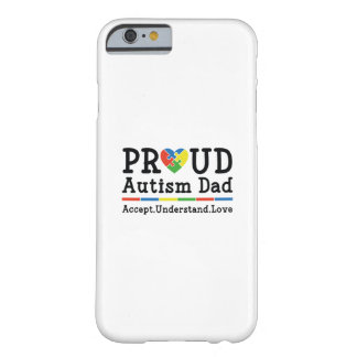 Capa Barely There Para iPhone 6 Pai orgulhoso do autismo
