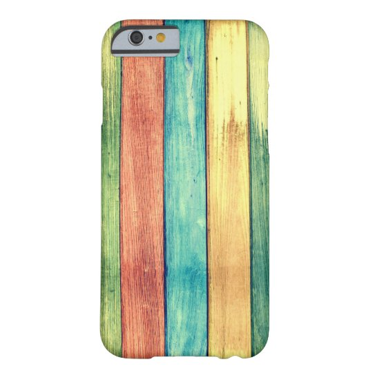 Capa Barely There Para iPhone 6 Painted Wood