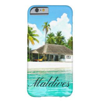 Capa Barely There Para iPhone 6 Paisagem bonita de Maldives