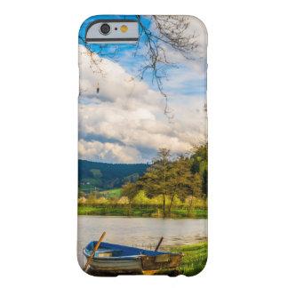Capa Barely There Para iPhone 6 Paisagem da floresta do lago