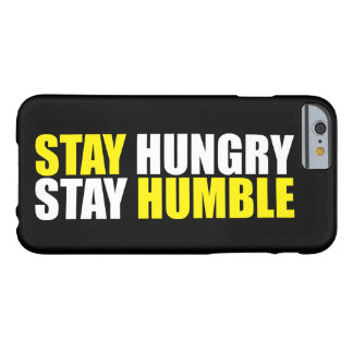 Capa Barely There Para iPhone 6 Palavras inspiradores - a estada com fome,