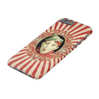 Capa Barely There Para iPhone 6 Palhaço de circo do vintage e alinhador