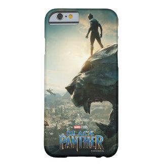 Capa Barely There Para iPhone 6 Pantera preta preta de pantera | que está sobre a