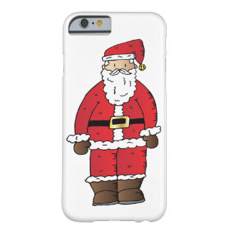 Capa Barely There Para iPhone 6 Papai noel