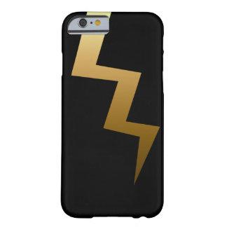 Capa Barely There Para iPhone 6 Parafuso de relâmpago do ouro