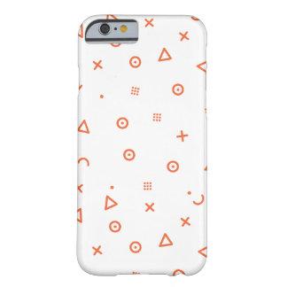 Capa Barely There Para iPhone 6 Partículas felizes