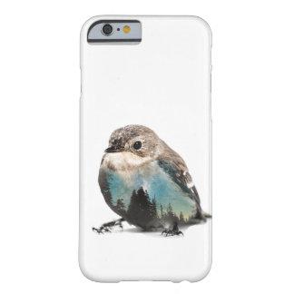 Capa Barely There Para iPhone 6 Pássaro da exposição dobro