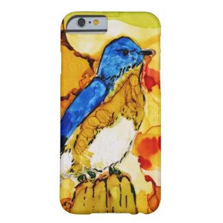 Capa Barely There Para iPhone 6 Pássaro do azul da queda