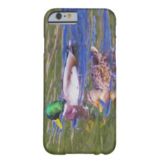Capa Barely There Para iPhone 6 Patos do pato selvagem