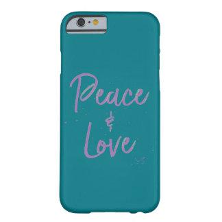 Capa Barely There Para iPhone 6 Paz-e-Amor-Roxo