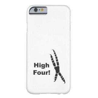 Capa Barely There Para iPhone 6 Pegada alta de quatro papagaios (elevação cinco)