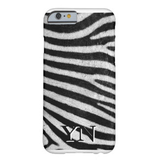 Capa Barely There Para iPhone 6 Pele de Zebra