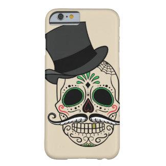 Capa Barely There Para iPhone 6 Personalize o dia da caixa inoperante do crânio