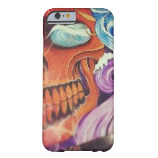 Capa Barely There Para iPhone 6 Pintura do crânio - caso de Iphone 6/6s