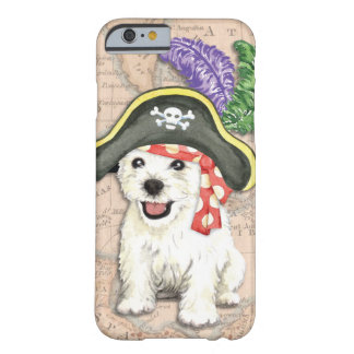 Capa Barely There Para iPhone 6 Pirata de Westie