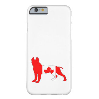 Capa Barely There Para iPhone 6 Pitt bull terrier