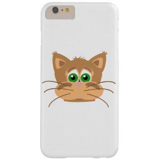 Capa Barely There Para iPhone 6 Plus A cabeça do gato