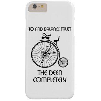 Capa Barely There Para iPhone 6 Plus a e do equilíbrio confiança