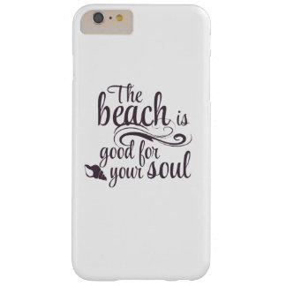 Capa Barely There Para iPhone 6 Plus A praia é boa para sua alma
