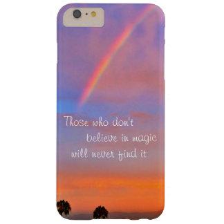 """Capa Barely There Para iPhone 6 Plus """"Acredite"""" na foto mágica do nascer do sol do"""