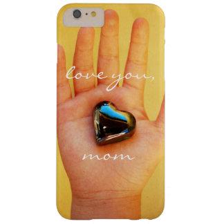 """Capa Barely There Para iPhone 6 Plus """"Ame-o a mão bonito da criança da mamã"""" que"""