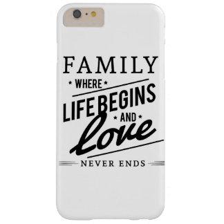 Capa Barely There Para iPhone 6 Plus Amor da família