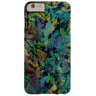 Capa Barely There Para iPhone 6 Plus Arte abstracta Scribbled colorido