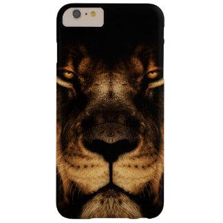 Capa Barely There Para iPhone 6 Plus Arte africana da cara do leão