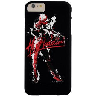 "Capa Barely There Para iPhone 6 Plus Arte da tinta do Puddin'"" de Batman | Harley Quinn"