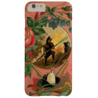 Capa Barely There Para iPhone 6 Plus arte do cobrir do telefone do sapador-bombeiro do
