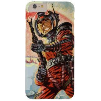 Capa Barely There Para iPhone 6 Plus Aventura do espaço da ficção científica
