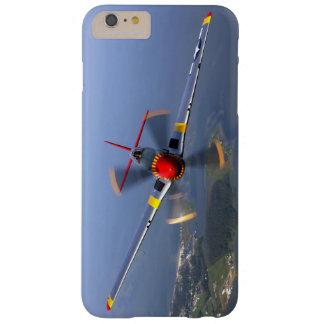Capa Barely There Para iPhone 6 Plus Aviões de lutador do mustang P-51