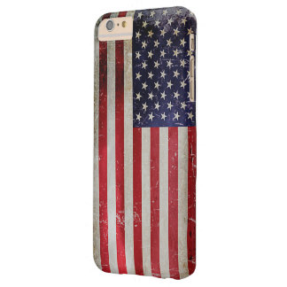 Capa Barely There Para iPhone 6 Plus Bandeira americana