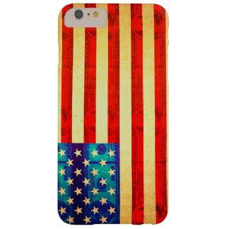 Capa Barely There Para iPhone 6 Plus Bandeira do dinheiro de América