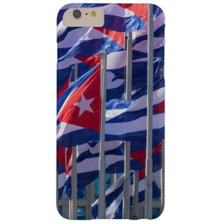 Capa Barely There Para iPhone 6 Plus Bandeiras cubanas, Havana, Cuba