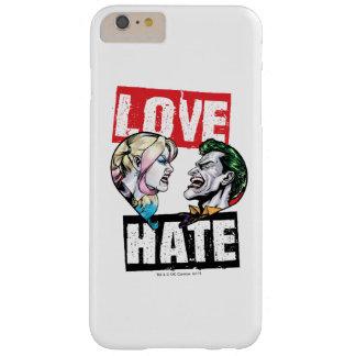 Capa Barely There Para iPhone 6 Plus Batman | Harley Quinn & amor do palhaço/ódio