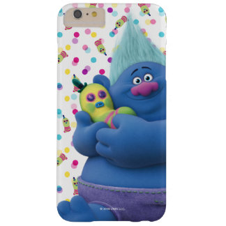 Capa Barely There Para iPhone 6 Plus Biggie dos troll   & Sr. Dinkles