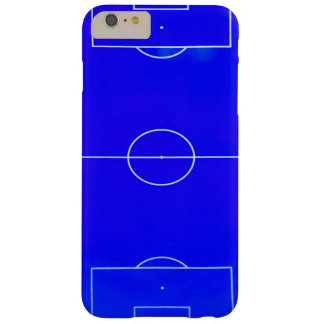 Capa Barely There Para iPhone 6 Plus Caixa azul brilhante do iPhone 6S do campo de