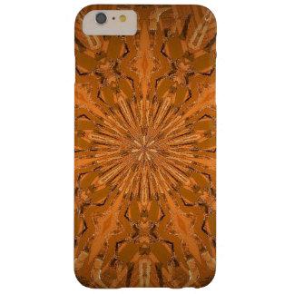 Capa Barely There Para iPhone 6 Plus Caleidoscópio do fogo de Orangey