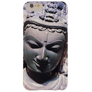 Capa Barely There Para iPhone 6 Plus Calma, foto de pedra asiática do Fim-acima da
