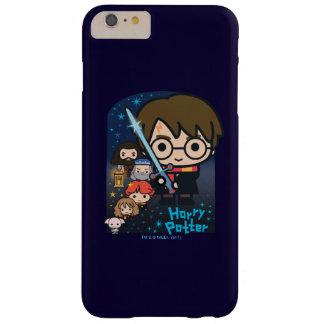 Capa Barely There Para iPhone 6 Plus Câmara de Harry Potter dos desenhos animados dos