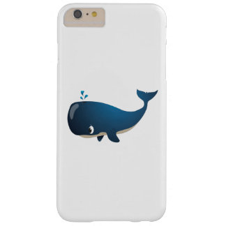 "Capa Barely There Para iPhone 6 Plus ""Capas de iphone da baleia do selo pequeno do amor"