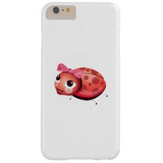 "Capa Barely There Para iPhone 6 Plus ""Capas de iphone do joaninha do selo pequeno do"