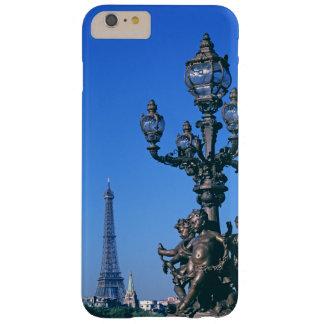 Capa Barely There Para iPhone 6 Plus Cargo da lâmpada na ponte de Pont Alexandre III e