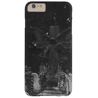 Capa Barely There Para iPhone 6 Plus Cartão do cemitério do Victorian da estátua do